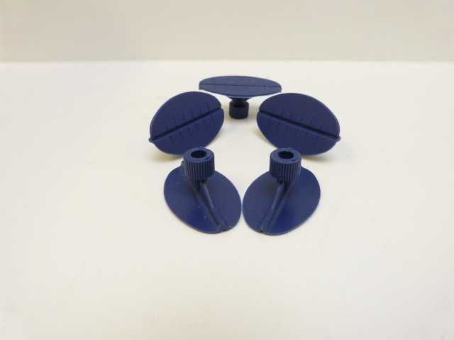 Set van 5 lijm-adapters 50x30mm